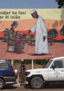 Plakatwand TARGET Guinea-Bissau