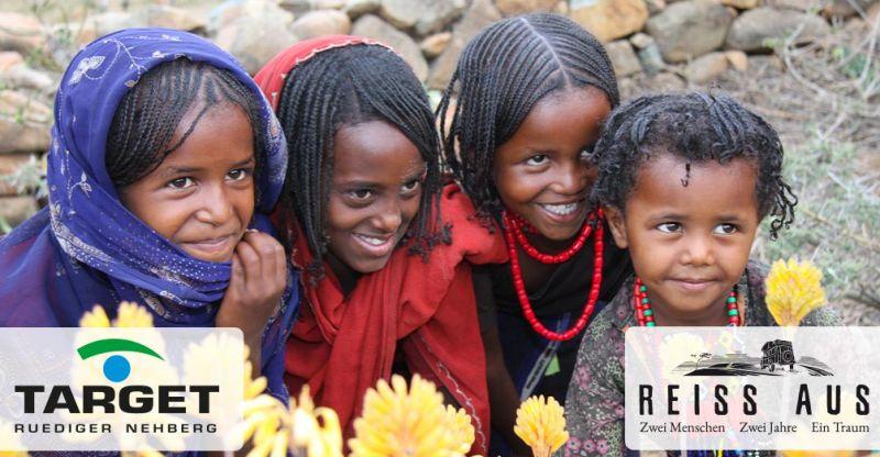 Macht mit bei unserer Spendenaktion gegen weibliche Genitalverstümmelung - in Kooperation mit Target e.V. Rüdiger Nehberg