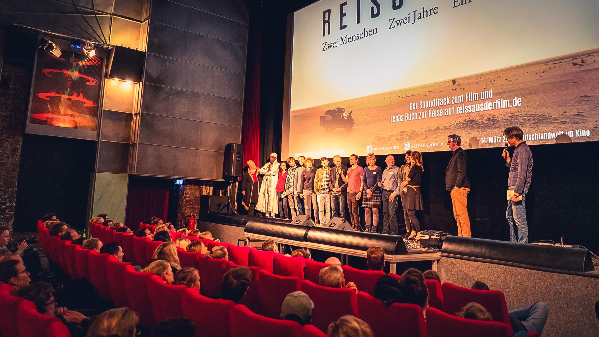 Premiere REISS AUS Zeise Kino Hamburg