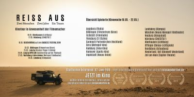 REISS AUS Spielorte und Termine Kinowoche 10 (16.05. - 22.05.)