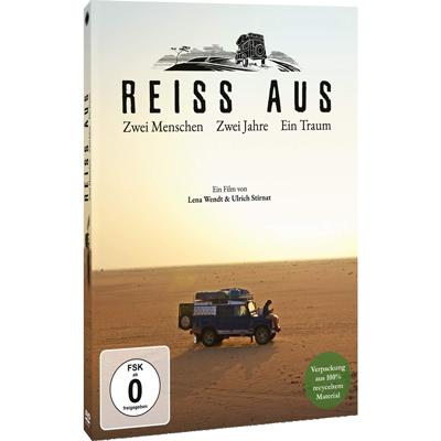DVD, BluRay und Stream jetzt im Handel erhältlich - REISS AUS - Zwei Menschen. Zwei Jahre. Ein Traum